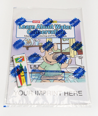 Learn About Water Conservation Coloring Book Fun Pack