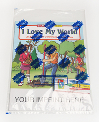 I Love My World Coloring and Activity Book Fun Pack