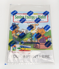 Saving Energy and Water Coloring and Activity Book Fun Pack
