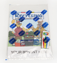 Recycling Coloring and Activity Book Fun Pack