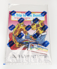 A Trip to the Dentist Coloring and Activity Book Fun Pack