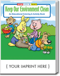 Keep Our Environment Clean Coloring and Activity Book