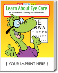 Learn About Eye Care Coloring and Activity Book