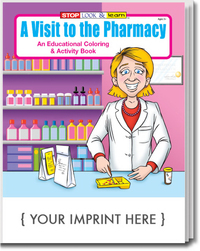 A Visit to the Pharmacy Coloring and Activity Book