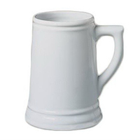 Stein, Ceramic Beer, 28 oz., 6 3/8""