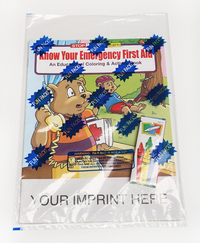 Know Your Emergency First Aid Coloring Book Fun Pack