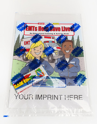 EMTs Help Save Lives Coloring and Activity Book Fun Pack