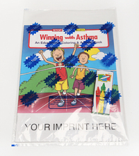 Winning With Asthma Coloring and Activity Book Fun Pack