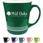 16 oz.Lime Green Spring Hill Funnel Mug