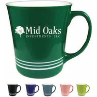16 oz. Green Spring Hill Funnel Mug