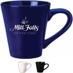 12 oz. White Funnel Shaped Mug