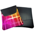 LARGE TABLET SLIP COVER LEATHERETTE & POLY RUBBER
