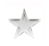 "5"" Crystal Star Paperweight"