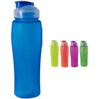 23 oz. Neon Blue Soft Touch Water Bottle