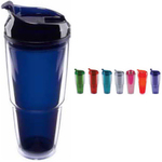 20 oz. Double Wall Acrylic Spectator with Dual Purpose Lid