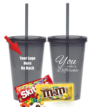 You Make A Difference Candy Tumbler