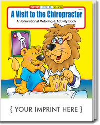 A Visit to the Chiropractor Coloring and Activity Book