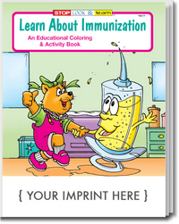 Learn About Immunization Coloring and Activity Book