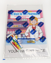 A Visit to the Pharmacy Coloring and Activity Book Fun Pack