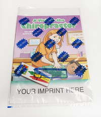 A Visit to the Chiropractor Coloring Book Fun Pack