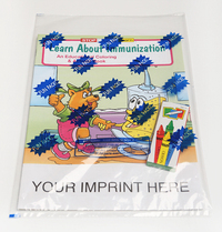 Learn About Immunization Coloring and Activity Book Fun Pack