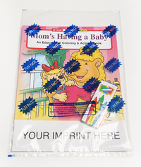 Mom's Having a Baby Coloring and Activity Book Fun Pack