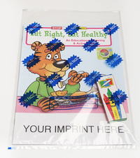 Eat Right, Eat Healthy Coloring and Activity Book Fun Pack
