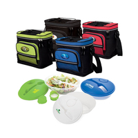 2 Piece Salad Cooler Set