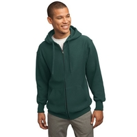 Sport-Tek Super Heavyweight Full-Zip Hooded Sweatshirt.