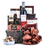 Chocolate & Wine Gift Basket