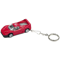 1:64 Scale Exotic Race Car Keychain