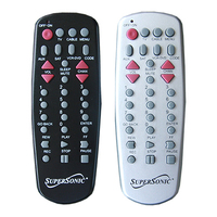 Supersonic Universal Remote Control - For TV, Auxiliar