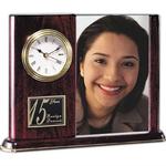 Webster Clock/Frame - Rosewood