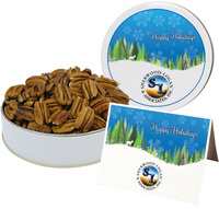 Southern Mammoth Pecan Halves - Small Tin
