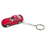 Race car keychain