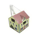 House Shape Tissue Box