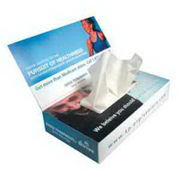 Economy Facial Tissue Box