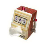 Slot Machine Tissue Box