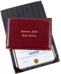 Junior Size Diploma Holder - Deluxe