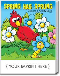Spring Has Sprung Coloring and Activity Book