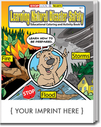 Learning Natural Disaster Safety Coloring and Activity Book