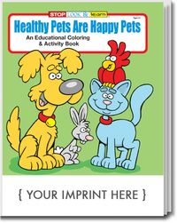 Healthy Pets are Happy Pets Coloring and Activity Book