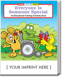 Everyone is Someone Special Coloring and Activity Book