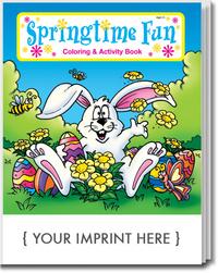 Springtime Fun Coloring and Activity Book
