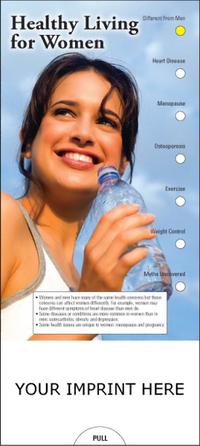 Healthy Living for Women Slide Chart