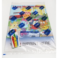 I Love My New Home Coloring Book Fun Pack