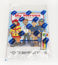 My Heroes Coloring and Activity Book Fun Pack