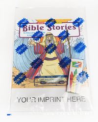 Bible Stories Coloring and Activity Book Fun Pack