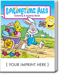 Springtime Pals Coloring and Activity Book