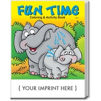 Fun Time Coloring and Activity Book